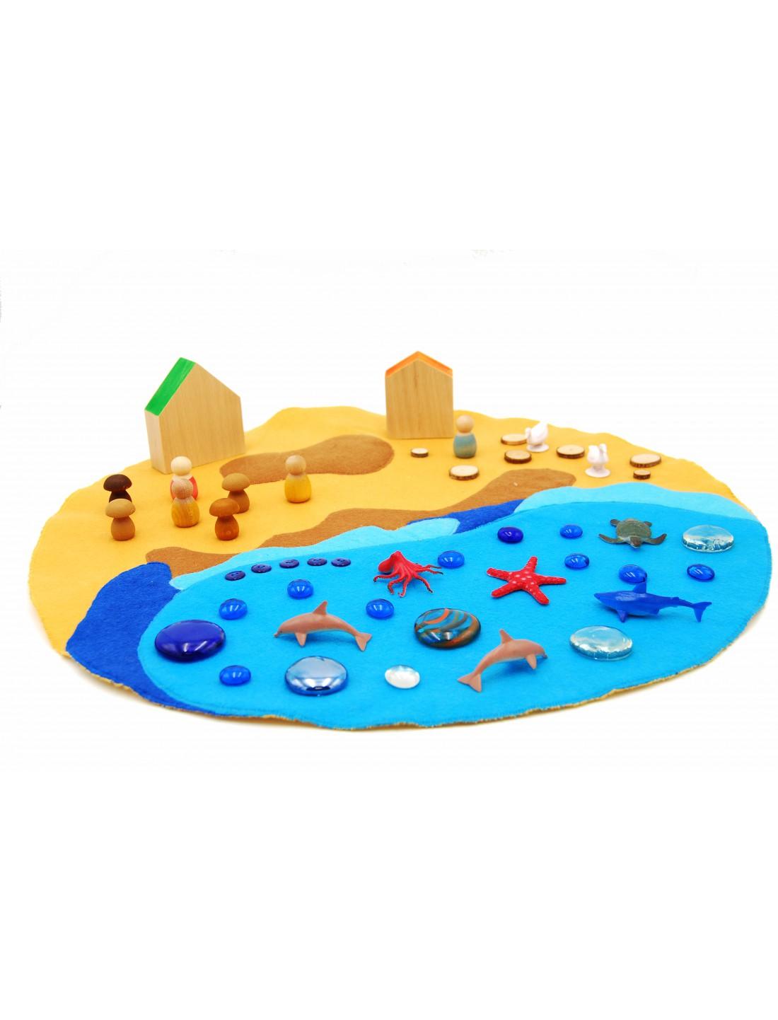 Base de juego El Mar. Arkhé.