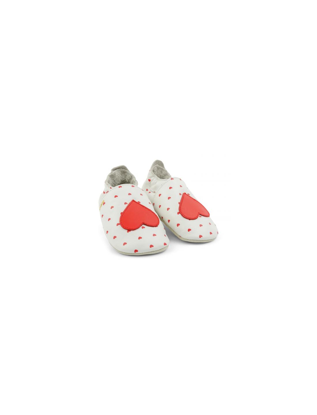 Zapato moccs Of Hearts. Bobux
