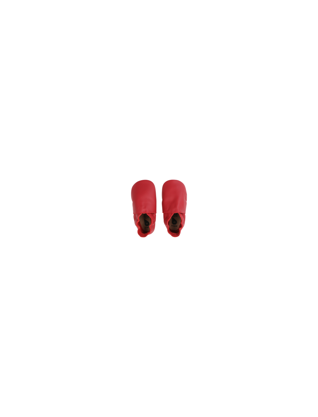 Zapato moccs Red Simple Shoe. Bobux