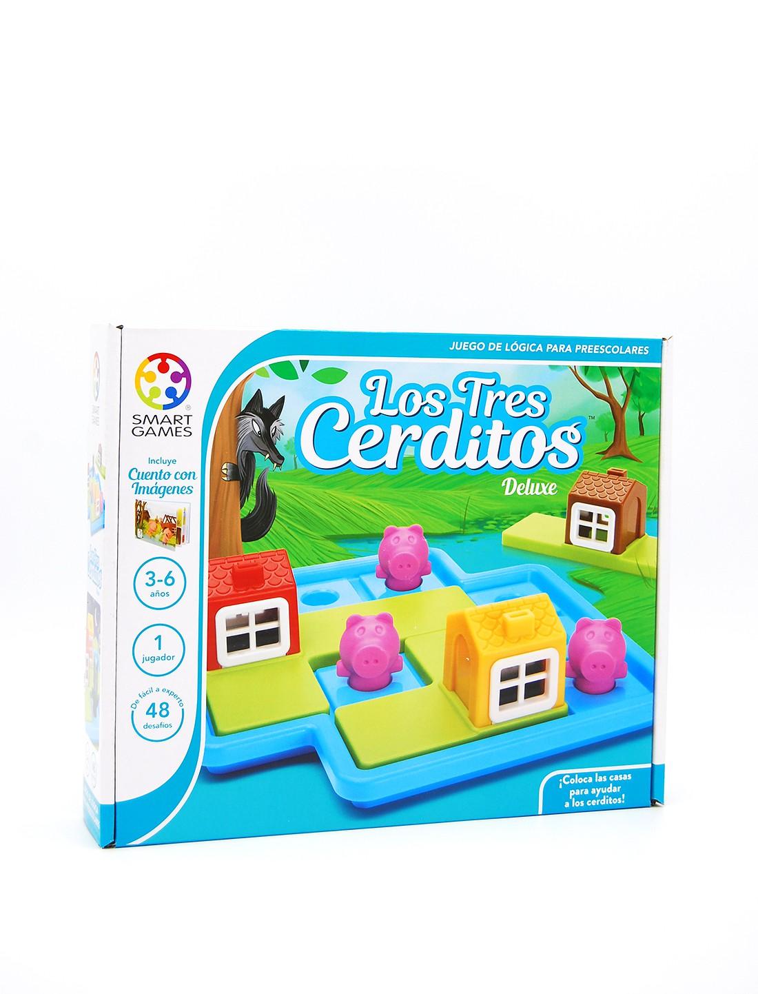 Los tres cerditos Deluxe. Smart Games