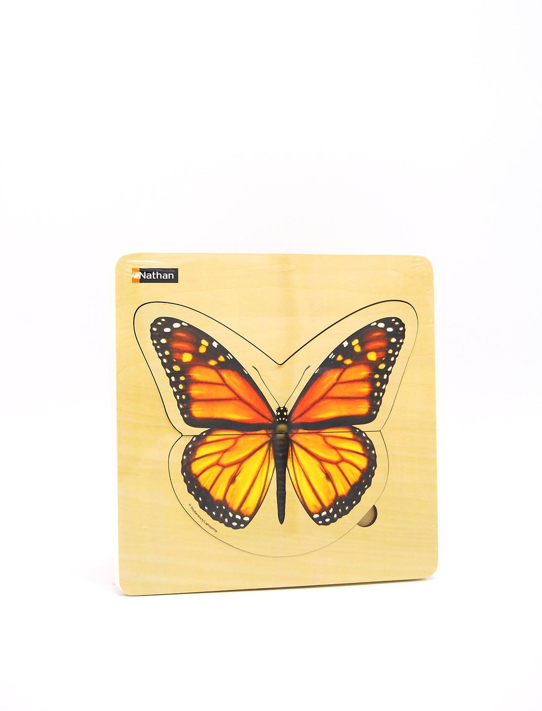 Ciclo de la vida La Mariposa. Puzzle...