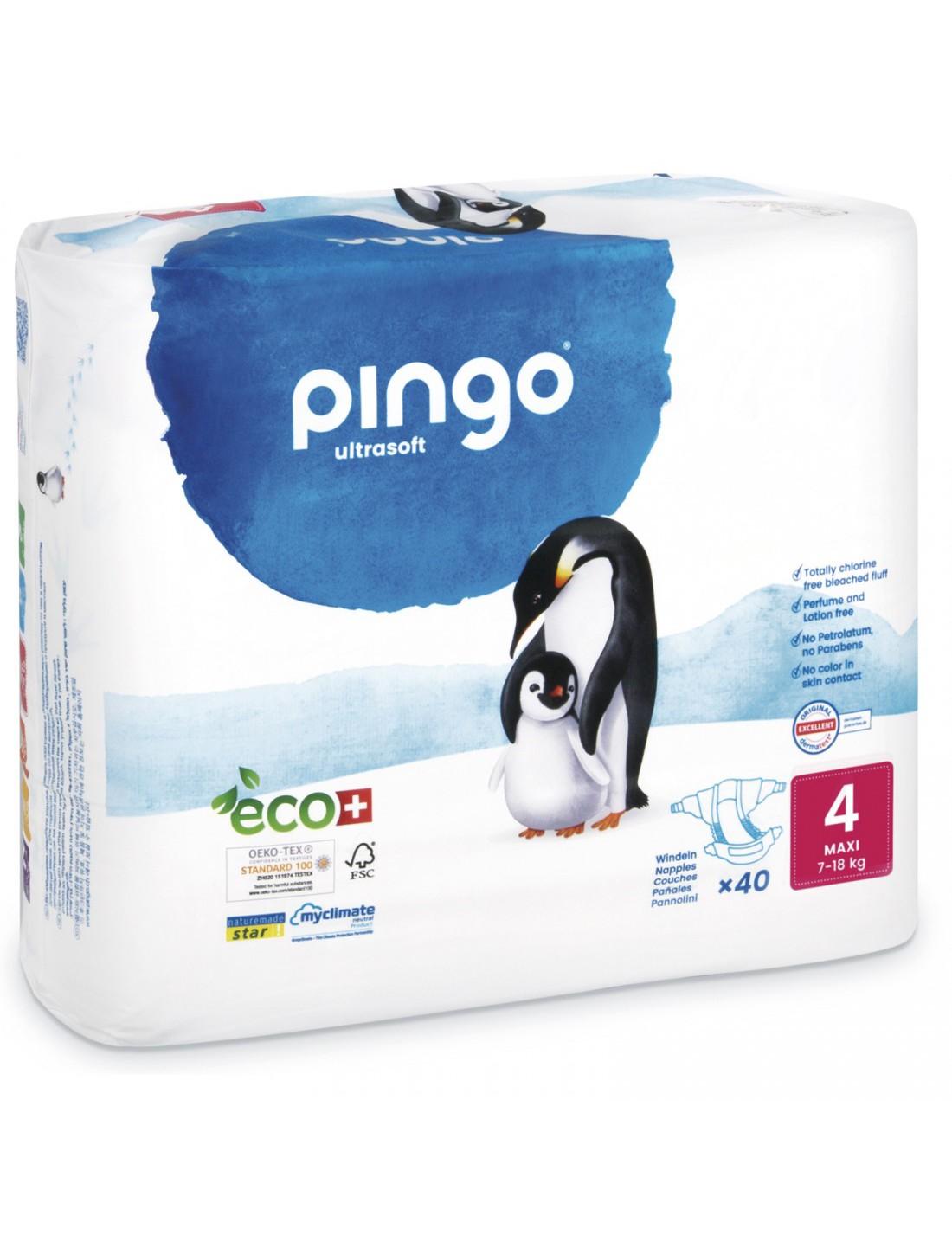 Pañales Ecológicos Pingo T.4 Maxi
