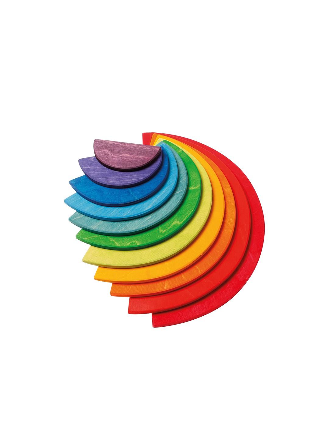 Semicírculos de colores brillantes....