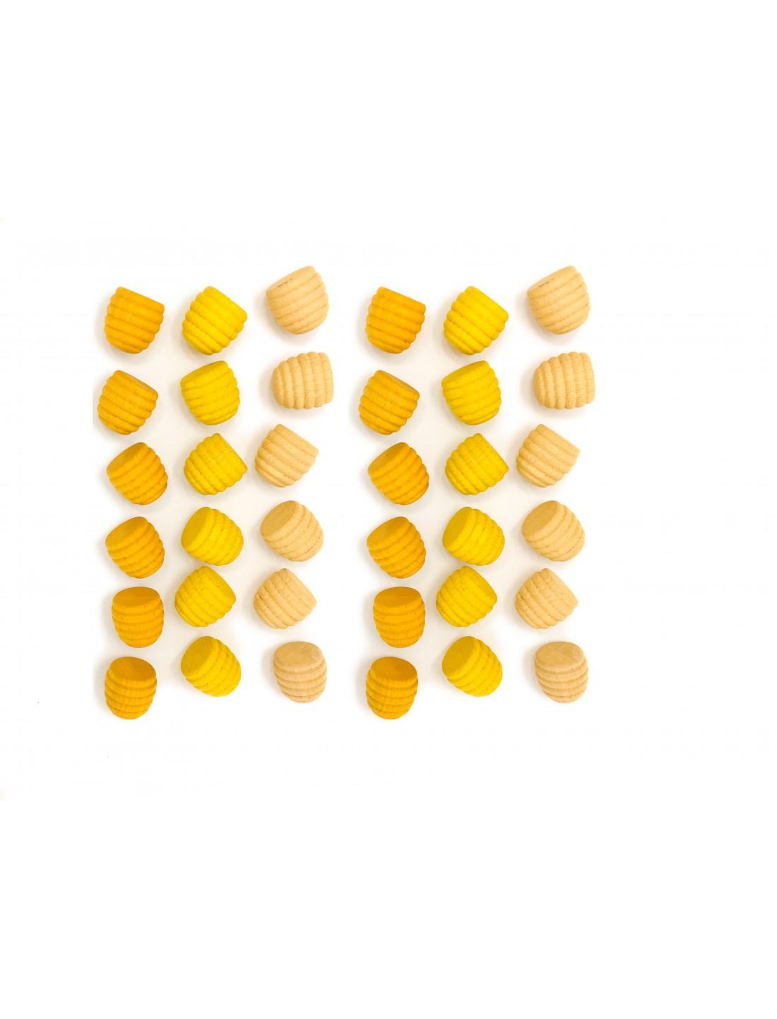 Mandala panales amarillos. Grapat