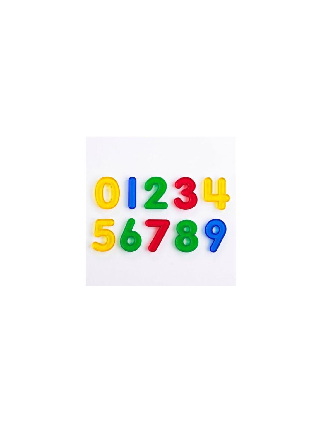 Números coloridos. TickiT