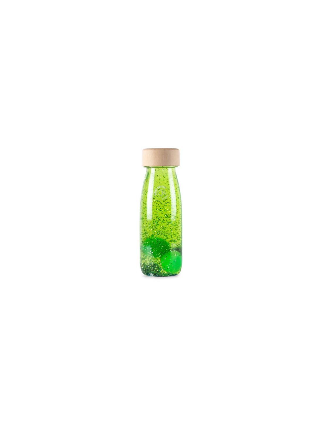 Botella sensorial Float verde. Petit...