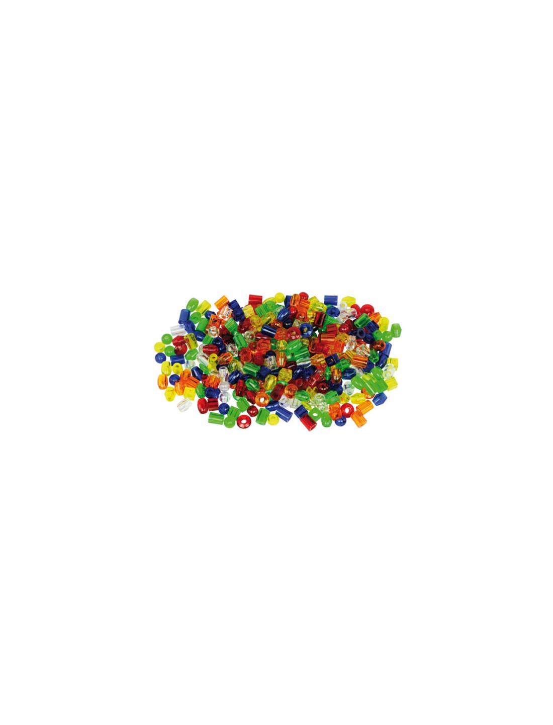 Perlas traslúcidas enlazables. TickiT